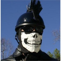 NUNEZ SKULL Face Mask Motorcycle facemask Full Ski Hood