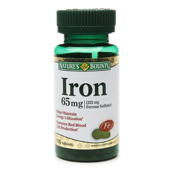 Nature's Bounty Iron
