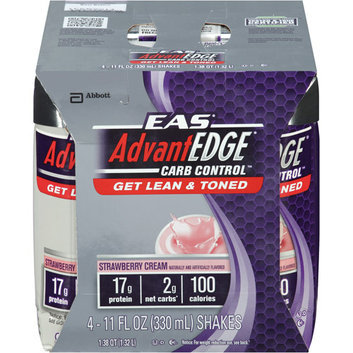EAS AdvantEDGE Carb Control Strawberry Cream Ready-to-Drink Shake