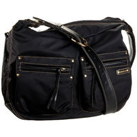 StorkSak Emily Slouch Hobo Diaper Bag,Black,one size (Discontinued by Manufacturer)