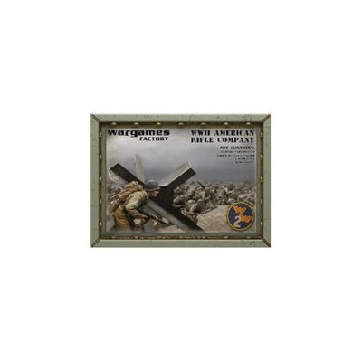 Wargame Factory 15MMW2002 Wwii American Infantry Company - Latewar