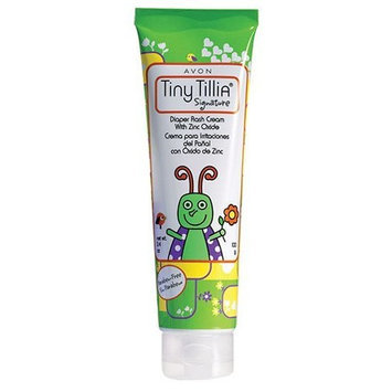 Avon Tiny Tillia Diaper Rash Cream with Zinc Oxide 3.4 Oz.
