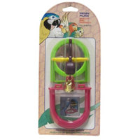 Penn Plax Penn-Plax Jingle Bird with Mirror & Perch