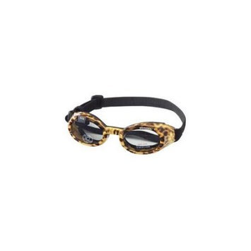 Doggles DGILLG-37 ILS Large Leopard - Smoke Lens