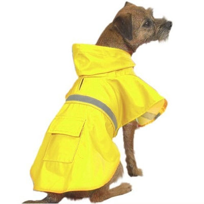 Guardian Guadian Gear Dog Rain Jacket, Yellow, Small