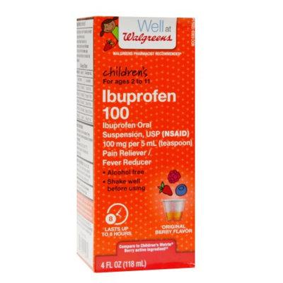Walgreens Children's Ibuprophen Suspension