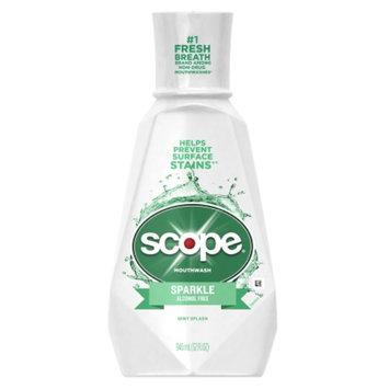 Scope Sparkle Mouthwash, Mint Splash, 32 fl oz