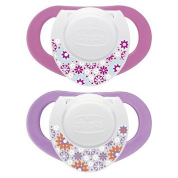Chicco NaturalFit 2pk 4M+ Deco Orthondonic Pacifier - Pink