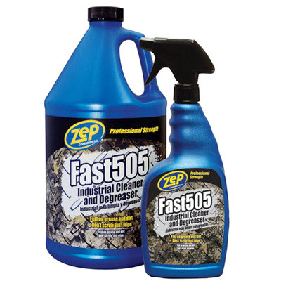 Zep Commercial Fast 505 Industrial Cleaner & Degreaser 128-oz ZU505128