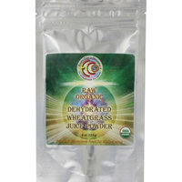 Earth Circle Organics - Dehydrated Wheat Grass Juice Powder - 4 oz.