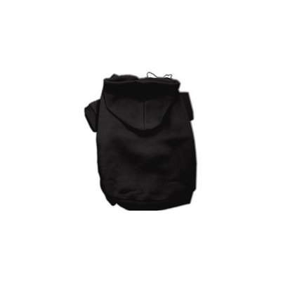 Mirage Dog Supplies Blank Hoodies Black S (10)