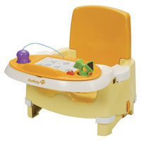 Safety 1St Snack 'N Scribble Booster - Yellow/Orange