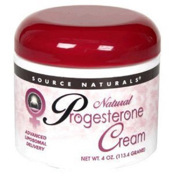 Source Naturals Bonus Progesterone Cream Jar by Source Naturals - 2oz. + 2oz. Bonus Bottle