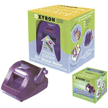 Xyron 250 Create-A-Sticker Machine