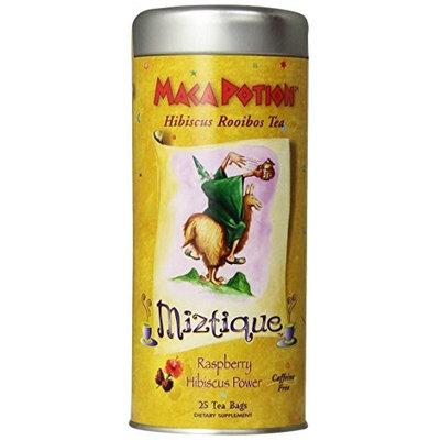Funfresh Foods Maca Potion, Hibiscus Rooibos Tea Bags, Raspberry, 25-Count