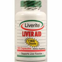 Liverite Liver Aid Plus Milk Thistle 150 Capsules
