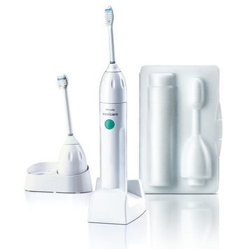 Philips Rechargeable Sonicare Essence Toothbrush with Better Plaque Removal Bonus Compact Brushhead