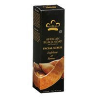 Nubian Heritage African Black Soap and Tamarind Facial Scrub -- 4.4 oz