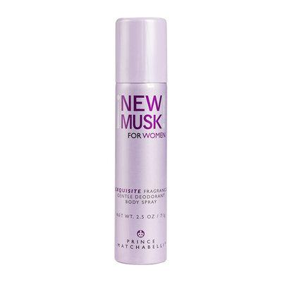 Prince Matchabelli New Musk for Women Gentle Deodorant Body Spray