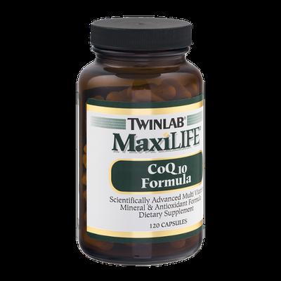 Twinlab MaxiLIFE CoQ10 Formula Capsules - 120 CT