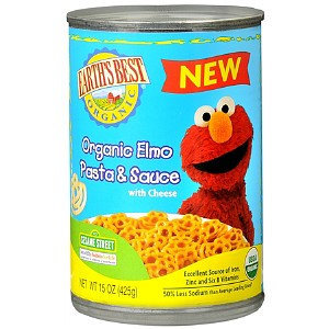 Earth's Best Sesame Street Organic Elmo Mini Meals Pasta and Sauce