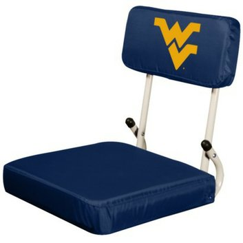 NCAA Logo West Virginia Hard Back Stadium Seat - M