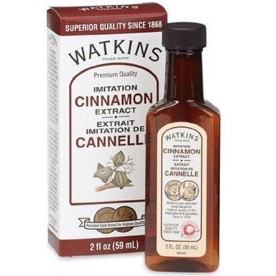 Watkins Imitation Cinnamon Extract, 2-Ounce Bottles (Pack of 6)