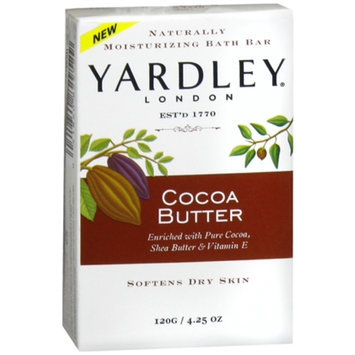 Yardley of London Naturally Moisturizing Bath Bar Soap