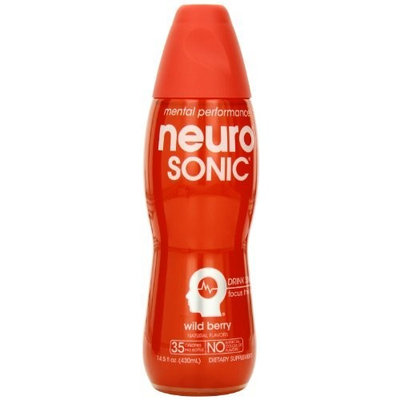 Neuro Nutritional Supplement Drink, Sonic, 14.5-Ounce Bottles (Pack of 12)