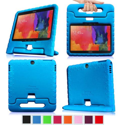 Fintie Shock Proof Convertible Handle Stand Kids Friendly for Samsung Tab 3 10-Inch And Tab 4 10-Inch Tablet, Blue