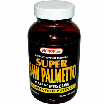 Action Labs Super Saw Palmetto Plus Pygeum 100 Capsules
