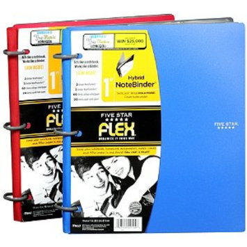 Mead Five Star Flex Hybrid NoteBinder 1