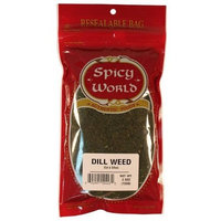 Spicy World Dill Weed (Cut & Sifted), 3.5-Ounce Bags (Pack of 6)