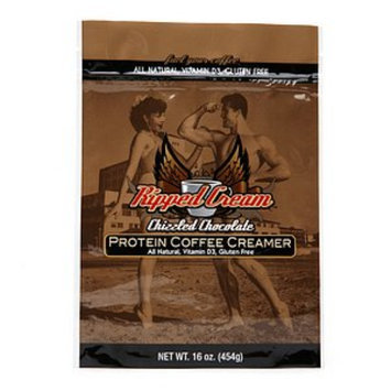 Ripped Cream Natural Protein Coffee Creamer, Chizzled Chocolate