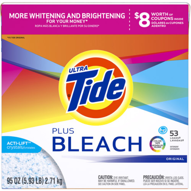 Tide Ultra Vivid White and Bright High Efficiency Laundry Detergent
