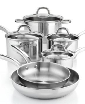 Martha Stewart Collection Stainless Steel 10 Piece Cookware Set
