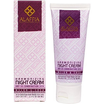 Alaffia- Melon & Shea Butter Harmonizing Night Cream- 2.3 oz