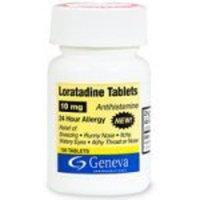 Loratadine Antihistamine, 10 mg, Tablets - 100 ea