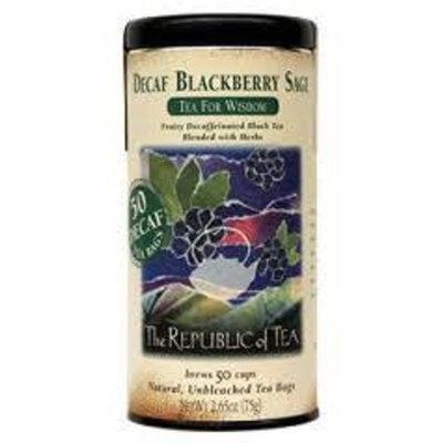 Republic Of Tea Blackberry Sage Black Full Leaf