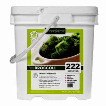 Lindon Farms Freeze Dried Broccoli, 222 Servings, 1 ea