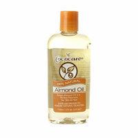 Cococare 100% Natural Almond Oil, 4 fl oz