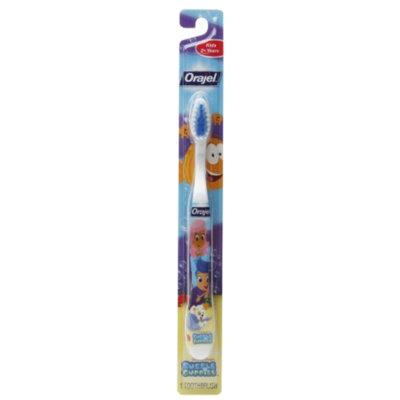 Orajel Bubble Guppies Manual Toothbrush, 1 ea