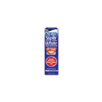 CCA Plus White Toothpaste Super White With Peroxide 3.5 oz.