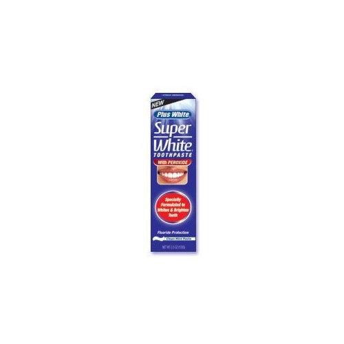 CCA Plus White Toothpaste Super White With Peroxide 3.5 oz.