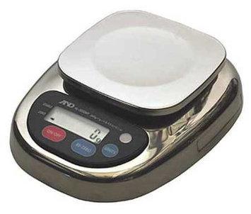 A & D WEIGHING HL-3000WP Digital Balance, SS Platform,3000g Cap.
