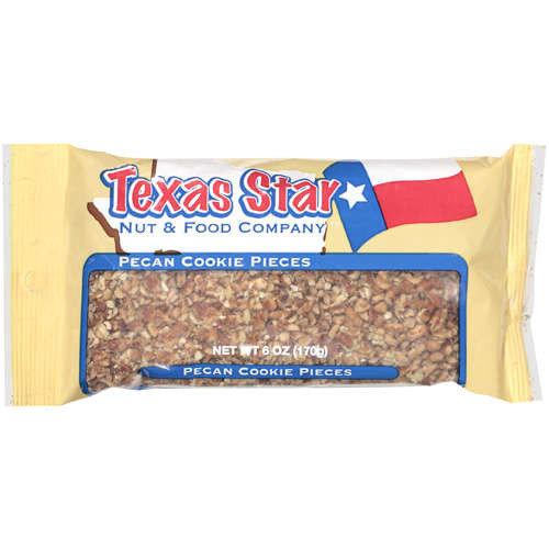 Texas Star: Cookie Pieces Pecans, 6 Oz