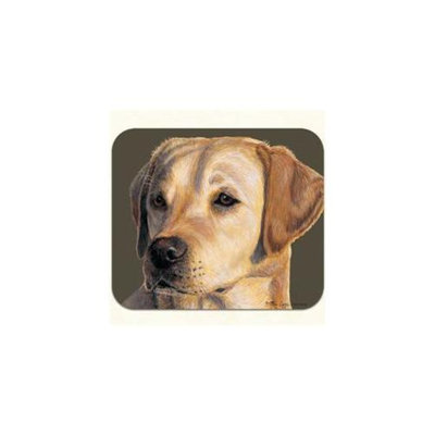 Fiddlers Elbow m407 Yellow Lab Mouse Pad, Pack Of 2