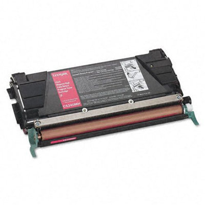 Lexmark LEXMARK C5240MH High Yield Return Program Toner Cartridge Magenta