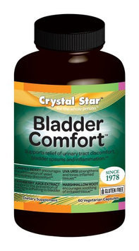 Crystal Star Bladder Comfort - 60 - Capsule [Health and Beauty]