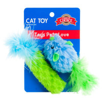 Grreat ChoiceA Mouse and Roller Plush Cat Toy